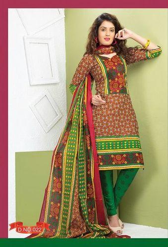 Baawri Cotton Printed Dress Material