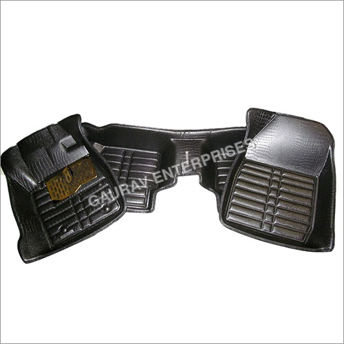 5D Car Mats With Black Color