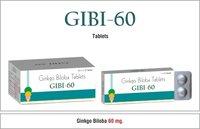 Ginko Biloba 60 mg. Tablets