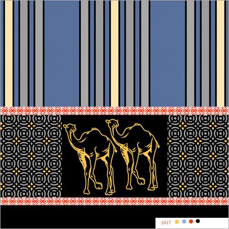 Polyester katari animal Lungis