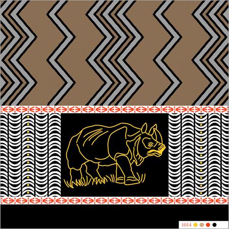 Polyster Printed animal katari  Lungies