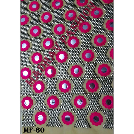 Mirror Embroidery Fabric