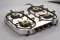 4 Bunner Gas Stove Oval Elegant