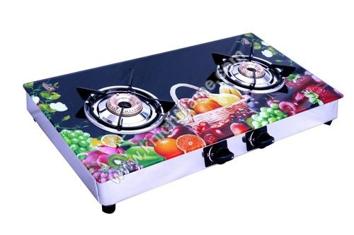 2 Burner SS gas Stove Fruit