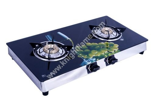 2 Burner SS Gas Stove Grape
