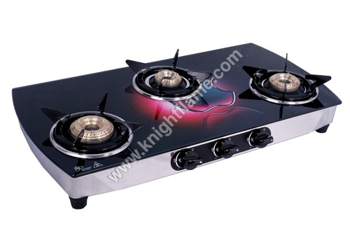 3 Burner Gas Stove Apple Cut
