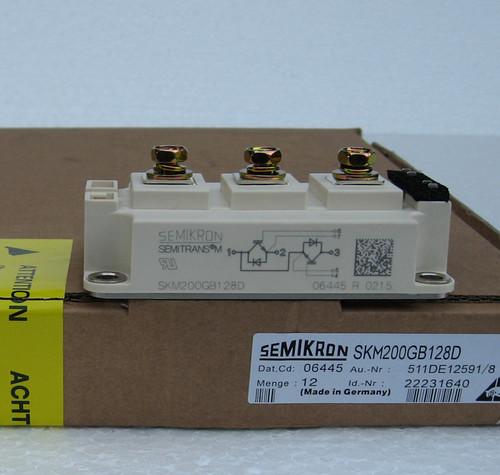 skm200gb128d semikron igbts