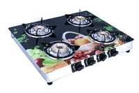 4 Burner Gas Stove Fruit