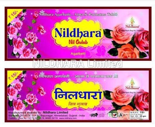 Nildhara Nil Gulab Agarbatti