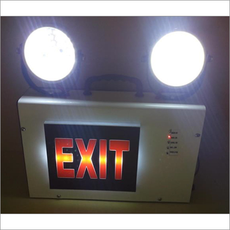 Industrial Emergency Sign Light