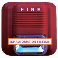 Sound Strobe Light Alarm Unit