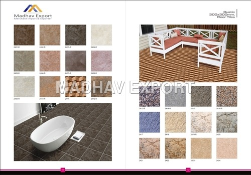 Multi Charge Floor Tiles