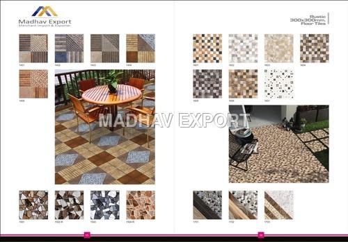Stone Series Digital Floor Tiles