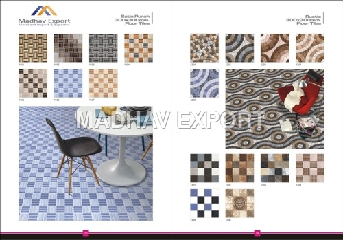 Satin Punch Series Digital Floor Tiles