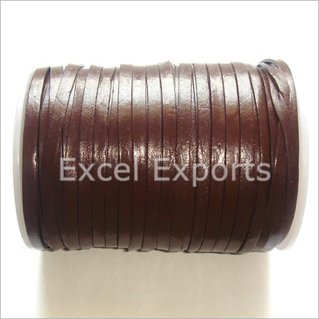 Brown Leather Cords