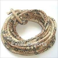 Reptile Dessign Stitched Leather Cord
