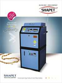 Induction Based Silver Melting Furnace 500 Gms. In Single Phase