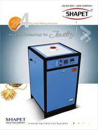 Induction Based Silver Melting Furnace 2 kg. In Three Phase