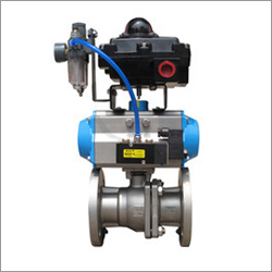 Rotary Actuated Ball Valve
