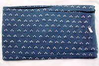 Small Butty Print Indigo Dabu Atik Hand Block Print Design 06
