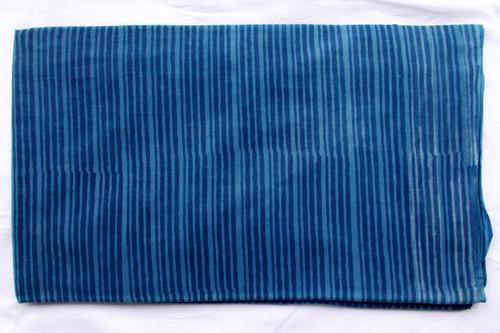 Blue Lining Indigo Dabu Print Design 07