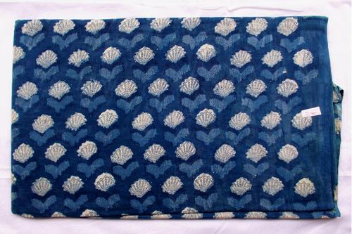 New Small Hey Pattern Indigo Dabu Hand Block Print Design 17
