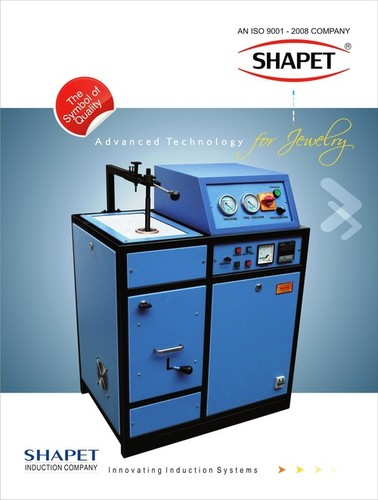 Induction Based Gold Casting Furnace 1 kg. In Three Phase
