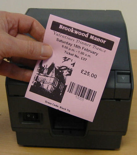 Thermal Paper Ticket Rolls