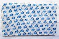 New Small Elephant Hand Block Printed 100% Cotton Fabric