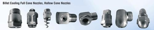 Billet Cooling Full Cone Nozzles, Hollow Cone