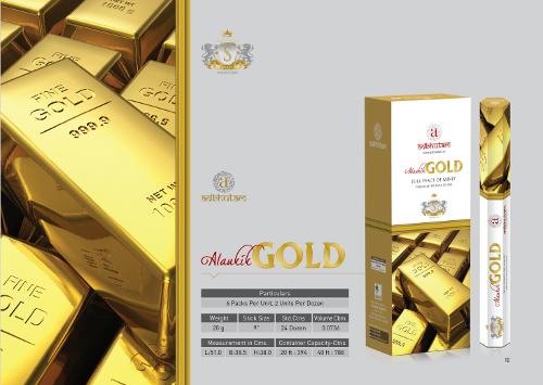 Golden Incense Sticks