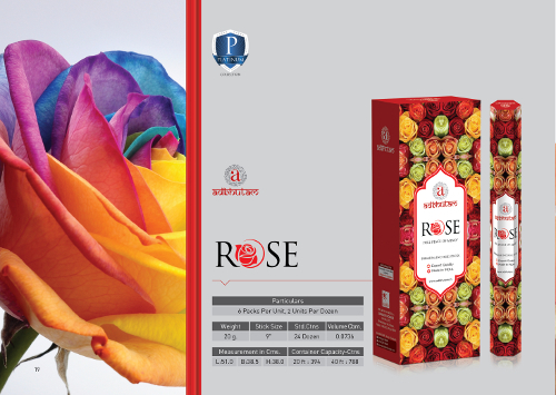 Rose Scented Incense Sticks