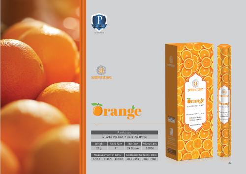 Orange Incense Sticks