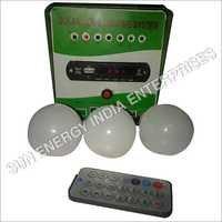 Solar Powered Home Lighting System