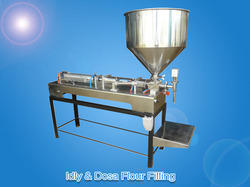 Automatic Idly & Dosa Flour Filling Machine