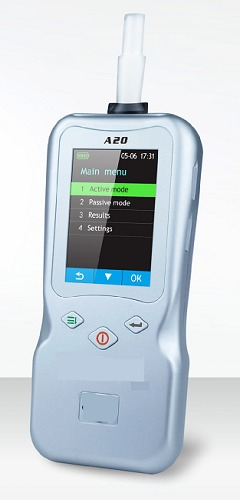 Alcohol Breath Analyser with printer A20