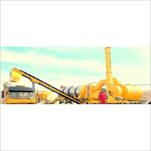 Mobile Hot Mix Plant