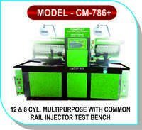 12 & CYL. Multipurpose With Common Rail Injector Test Bench +