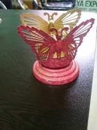 Butterfly T-Light Holder