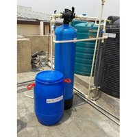 Puredrop Semi Automatic Domestic Home Water Softener System 500 LPH Capacity
