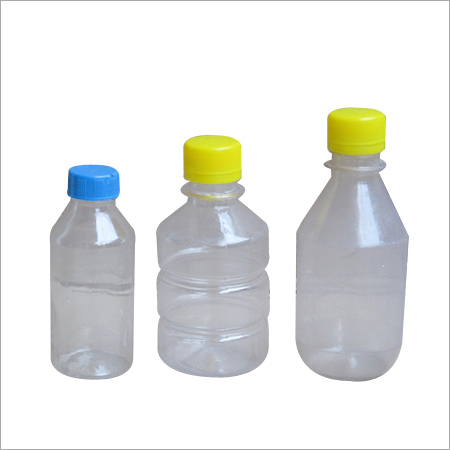 250 ML Plastic Round Bottle