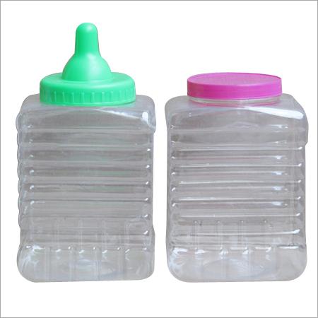 Fancy Plastic Jar