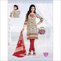 Designer Cotton Dress Materials