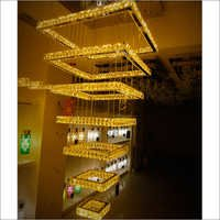 Double Heights Crystal Chandeliers