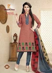PRINTED DRESS RADHIKA PRIME COLLECTION VOL-52