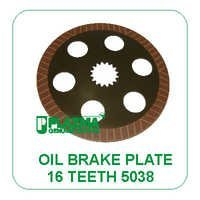 Oil Brake Plate 16 Th. 5038 John Deere