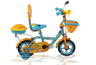 Colored Kids Bicycle