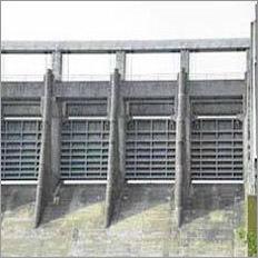 Dam Spillway Gates