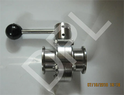 Triclover Butterfly Valve