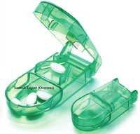 Pill Box with Pill Cutter